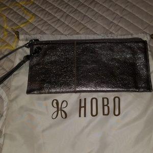 Hobo Silver wristlet